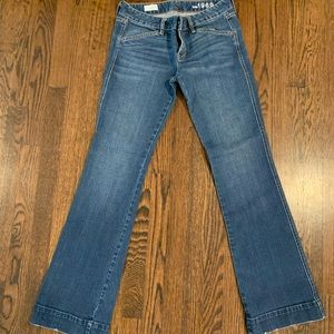 Gap flare bottom jeans